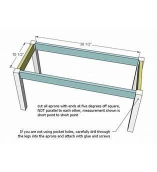Barn Board Table Plans
