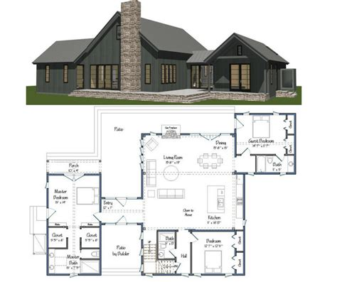 Barn building plans home Image