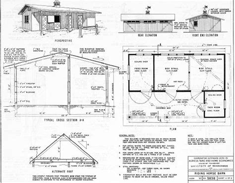 Barn plans 30 x 40 Image