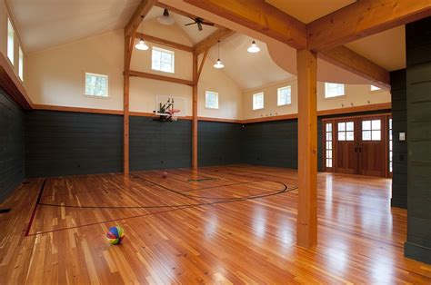 Barn Plans With Basketball Court Image