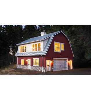 Barn Shaped House Plan