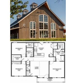 Barn Style Farmhouse Plans