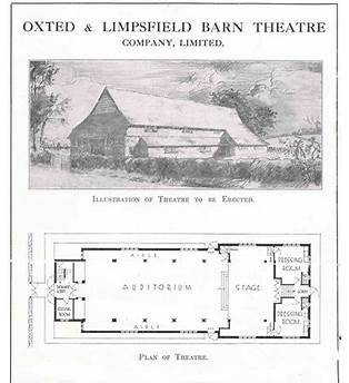 Barn Theatre Oxted Seating Plan