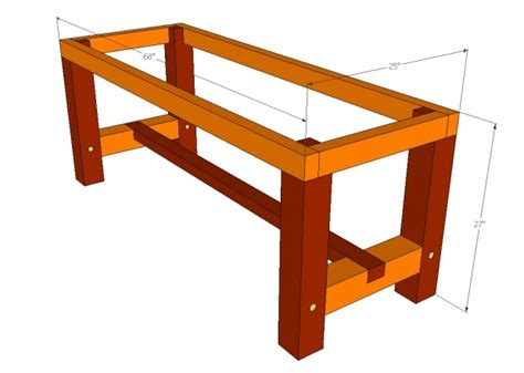 Barn wood dining table plans Image