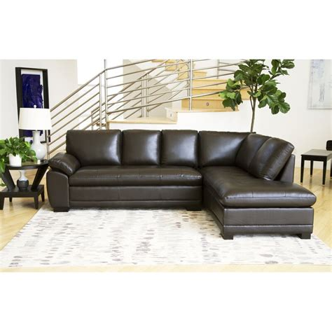 Barnard Leather Sectional