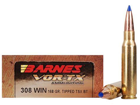 Barnes Vortex 308 168 Grain
