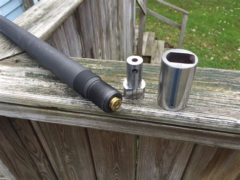 Barrel Extension Into The Reciever And M4 Rifle Barrel Extension