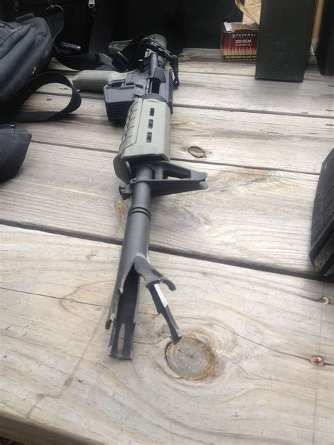 Barrel Split Rifle