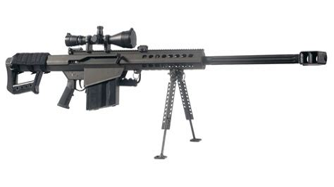 Barrett 50 Cal Sniper Rifle Cost
