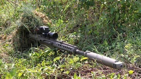 Barrett 50 Cal Sniper Rifle Suppressor