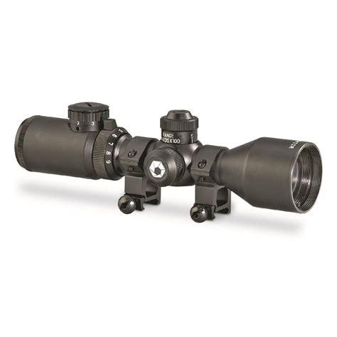 Barska 39x42mm Illuminated Reticle Ar15 M16 Rifle Scope
