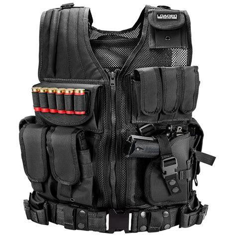 Barska Loaded Gear Vx 200 Tactical Vest Right Hand Draw