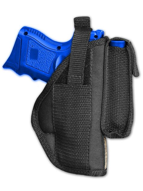 Barsony Owb Belt Holster With Magazine Pouch