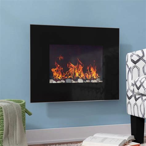 Bartlow Wall Mounted Electric Fireplace