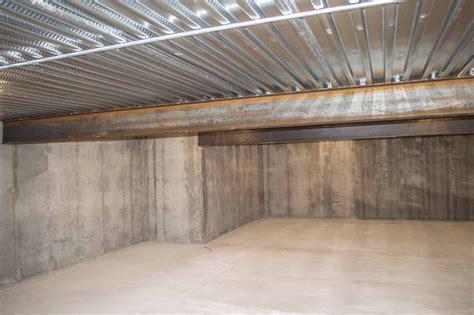 Basement under garage plans Image
