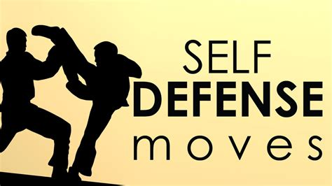 Basic Self Defense Moves How To Escape