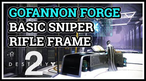 Basic Sniper Rifle Frame Gone