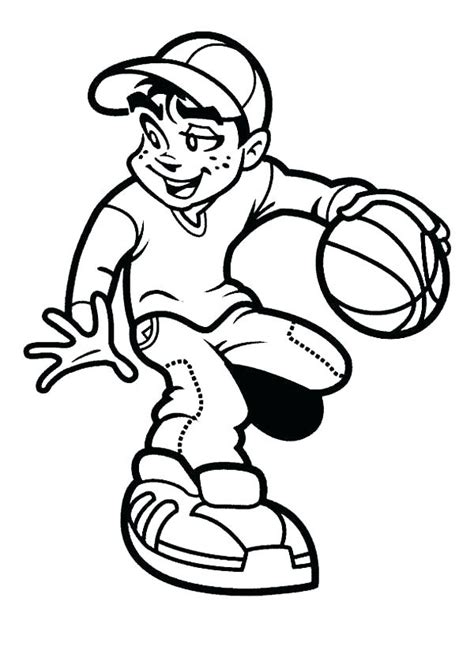 Basketball Coloring Pages To Print College