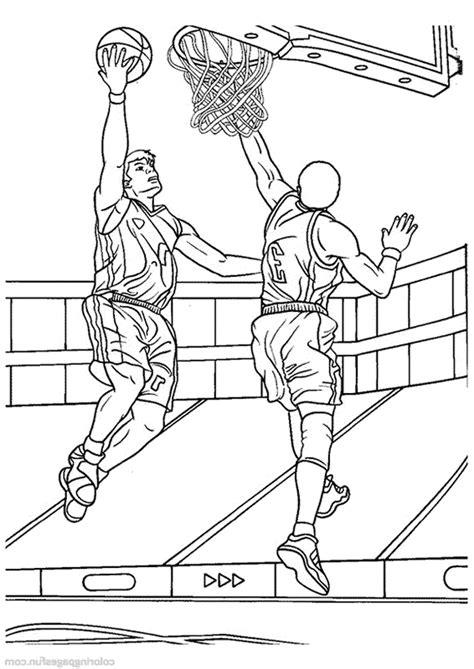 Basketball Colouring Pages Printable