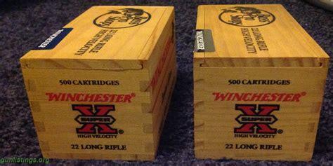 Bass Pro Wooden Ammo Box