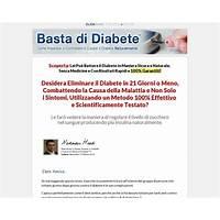 Best basta di diabete diabetes treatment italian version 90% commission!