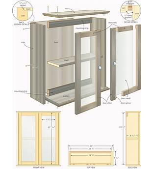 Bathroom Cabinet Construction Plans