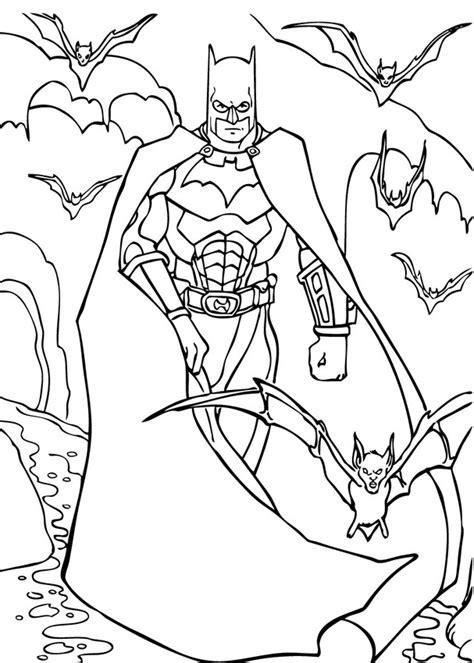 Batman Malvorlagen Ig