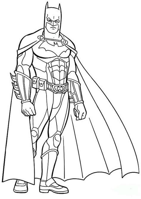 Batman Malvorlagen Kostenlos
