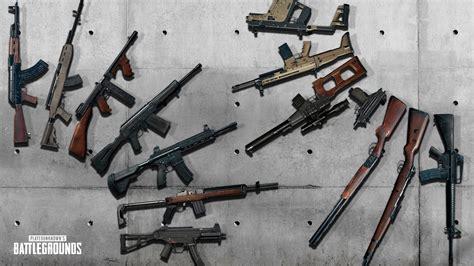 Battlegrounds Guns And Ammo