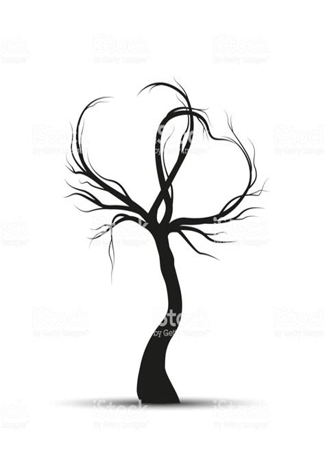 Baum Mit ästen Malvorlage