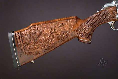 Bavarian Carved Rifle Stocks