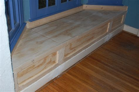 Bay Window Benches With Storage Plans Image