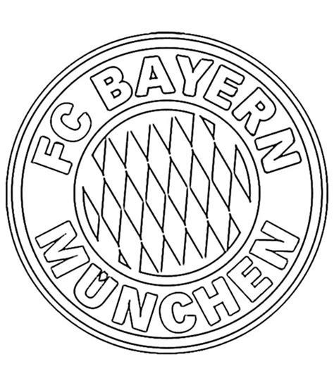 Bayern München Zeichen Malvorlage