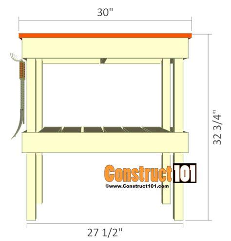 bbq table plans.aspx Image