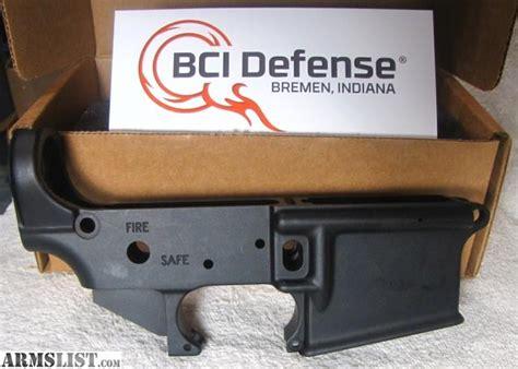 Bci Defense M16 Cut Stripped Lower Receiver