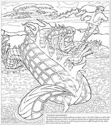 Beast Quest Malvorlagen Online