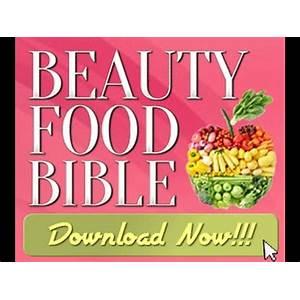 Beauty food bible special presentation specials