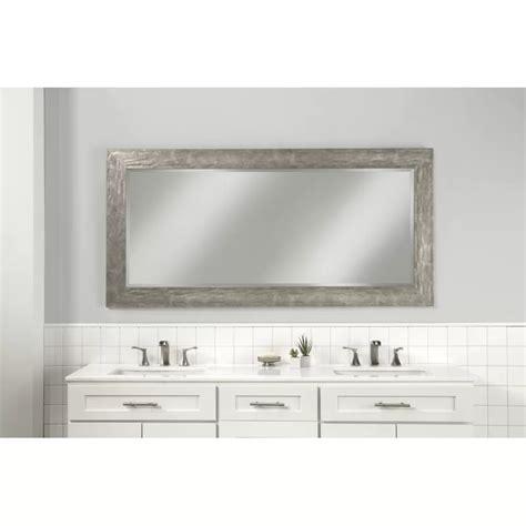 Beckette Hammered Coastal Beveled Distressed Bathroom/Vanity Mirror