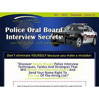 Become a cop interview study guide: converting very well experience