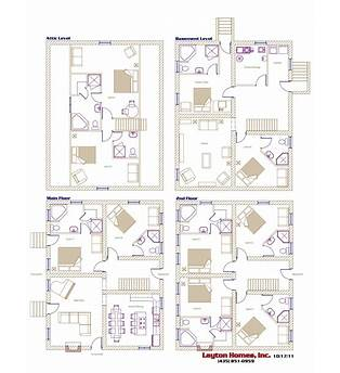 Bed And Breakfast Resort Plans