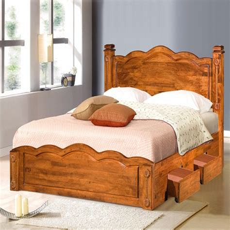 Bed design woodworking Image
