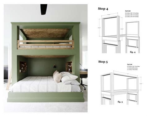 Bed plans to build Image