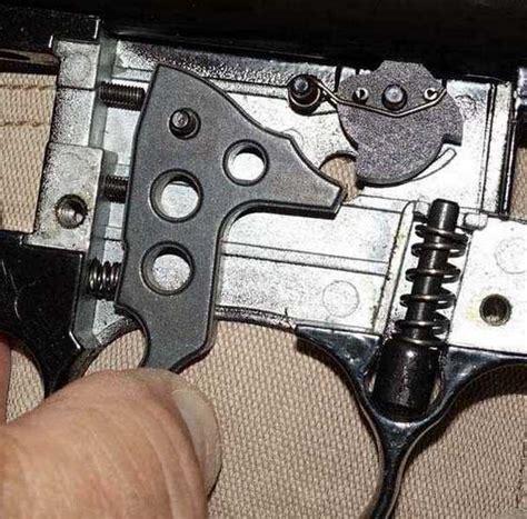 Beeman Air Rifle Trigger Adjustment