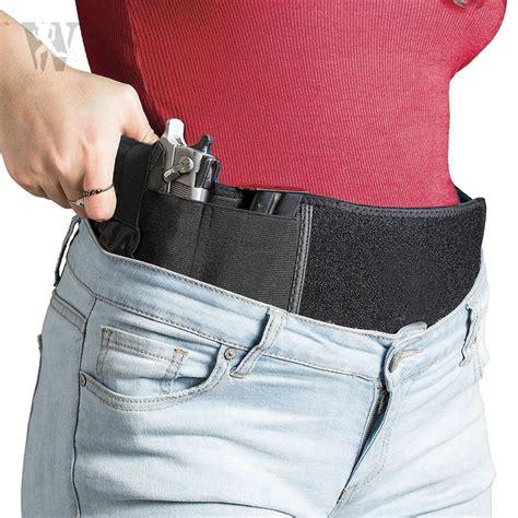 Belly Band Holster For Concealed Carry Waist Handgun Gun Holster