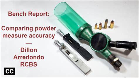 Bench Report Powder Measure Accuracy Dillon Arredondo RCBS