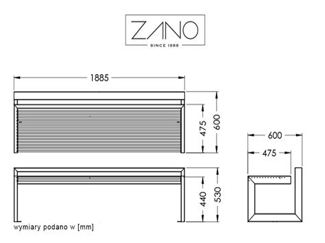 Bench measurements Image