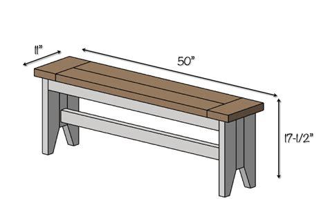 Bench seating plans Image