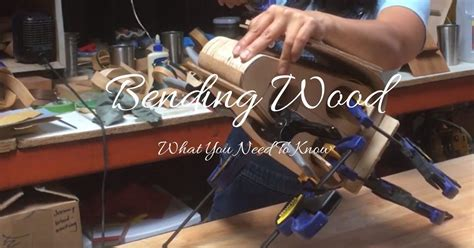 Bending wood with water Image