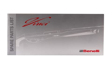 Benelli Usa Vincisuper Vinci Spare Parts List