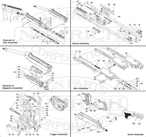 Benelli R1 Parts Schematic Numrich Gun Parts